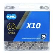 Corrente KMC X10 Silver 10V 116 elos