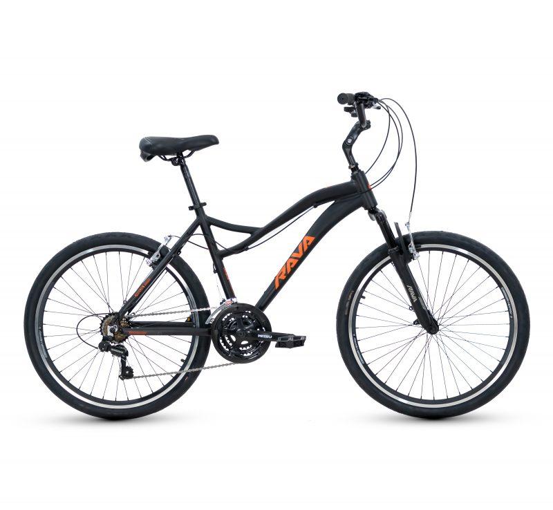 """Bicicleta Aro 26 Rava Bolt - MTB 21V Quadro 18"""""""