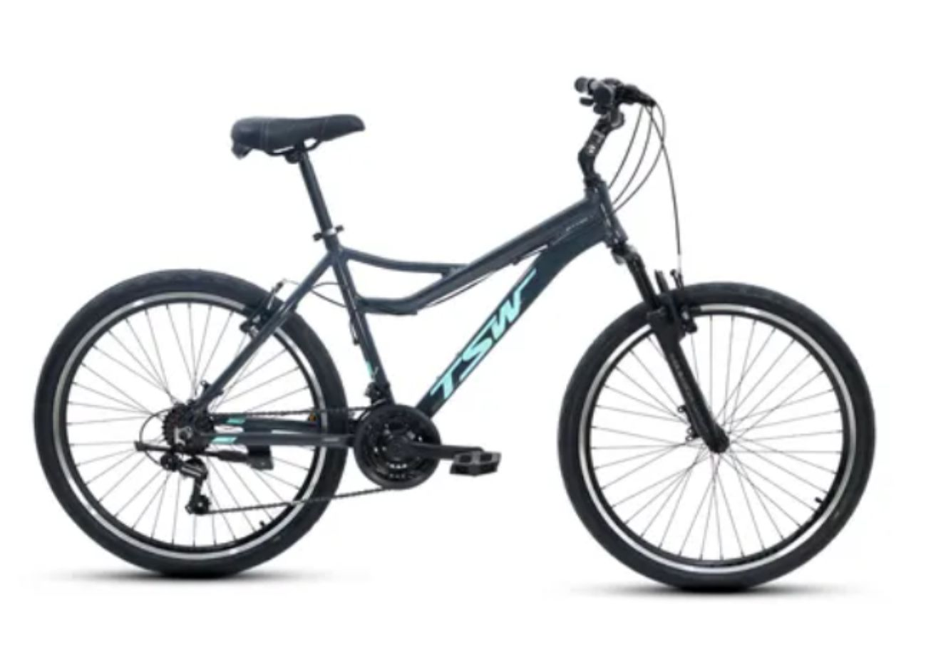 "Bicicleta Aro 26 TSW Orla - MTB 21V Quadro 18"""