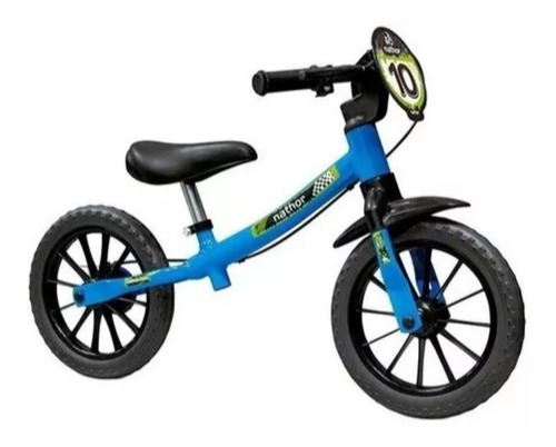 Bicicleta Infantil Aro 12 Balance Equilíbrio Nathor
