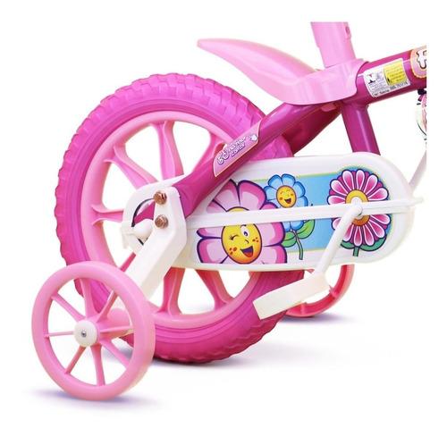 Bicicleta Infantil Aro 12 Flower - Nathor