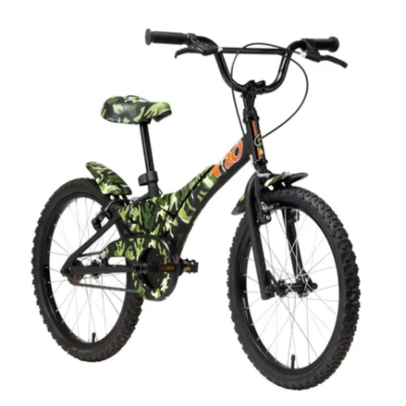 Bicicleta Infantil Aro 16 Groove T16 Camuflada