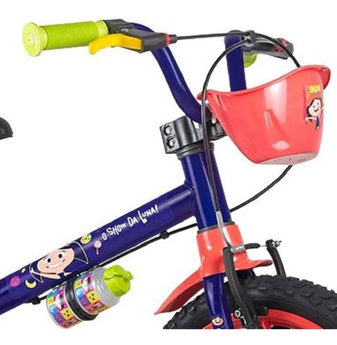 Bicicleta Infantil Aro 16 Show Da Luna - Nathor - C/cesta