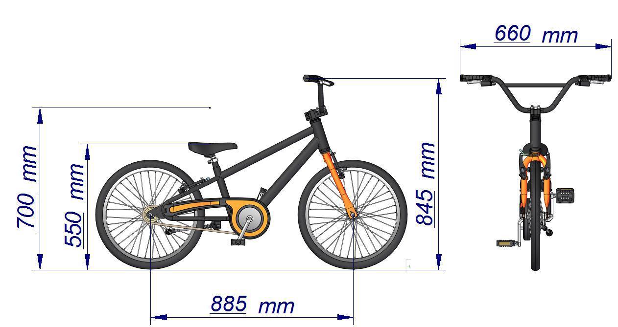 Bicicleta Infantil Aro 20 Bella Rosa C/ Cesta Nathor