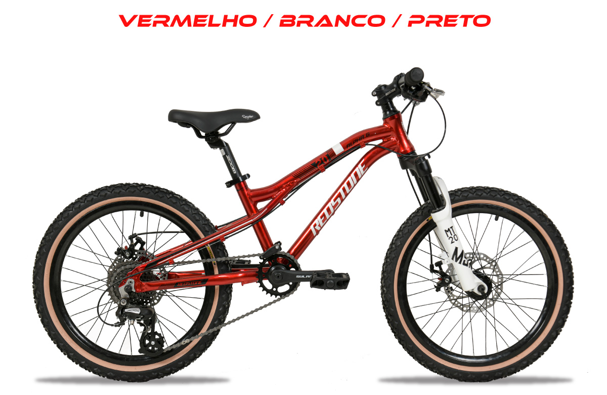 Bicicleta Infantil Aro 20 Redstone Alpha G