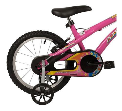 Bicicleta Infantil Athor Baby Girl Aro 16 -promoção