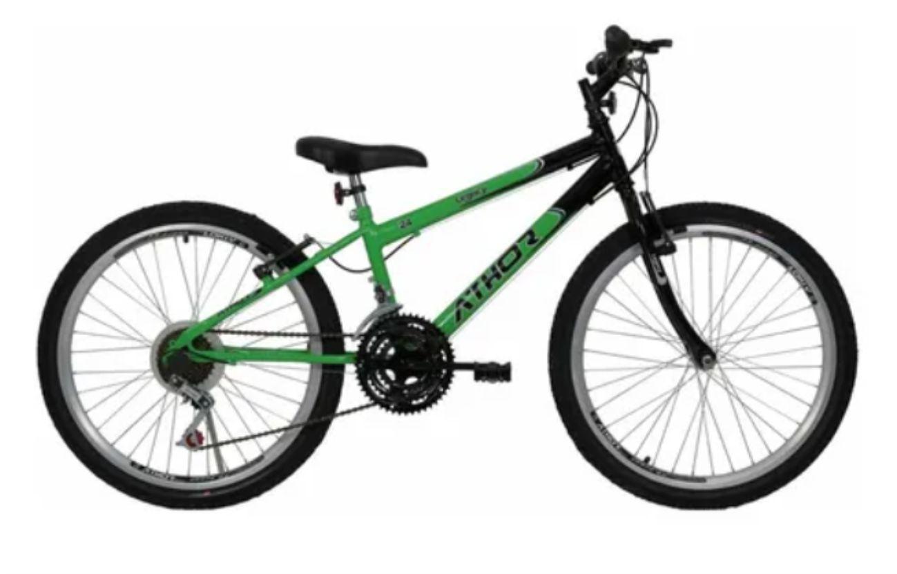 Bicicleta Infantil Athor Legacy Aro 24 - 18 Marchas