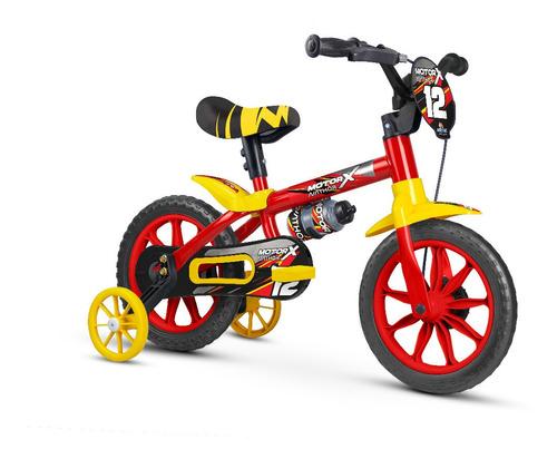 Bicicleta Infantil Nathor Aro 12 Menino Motor X
