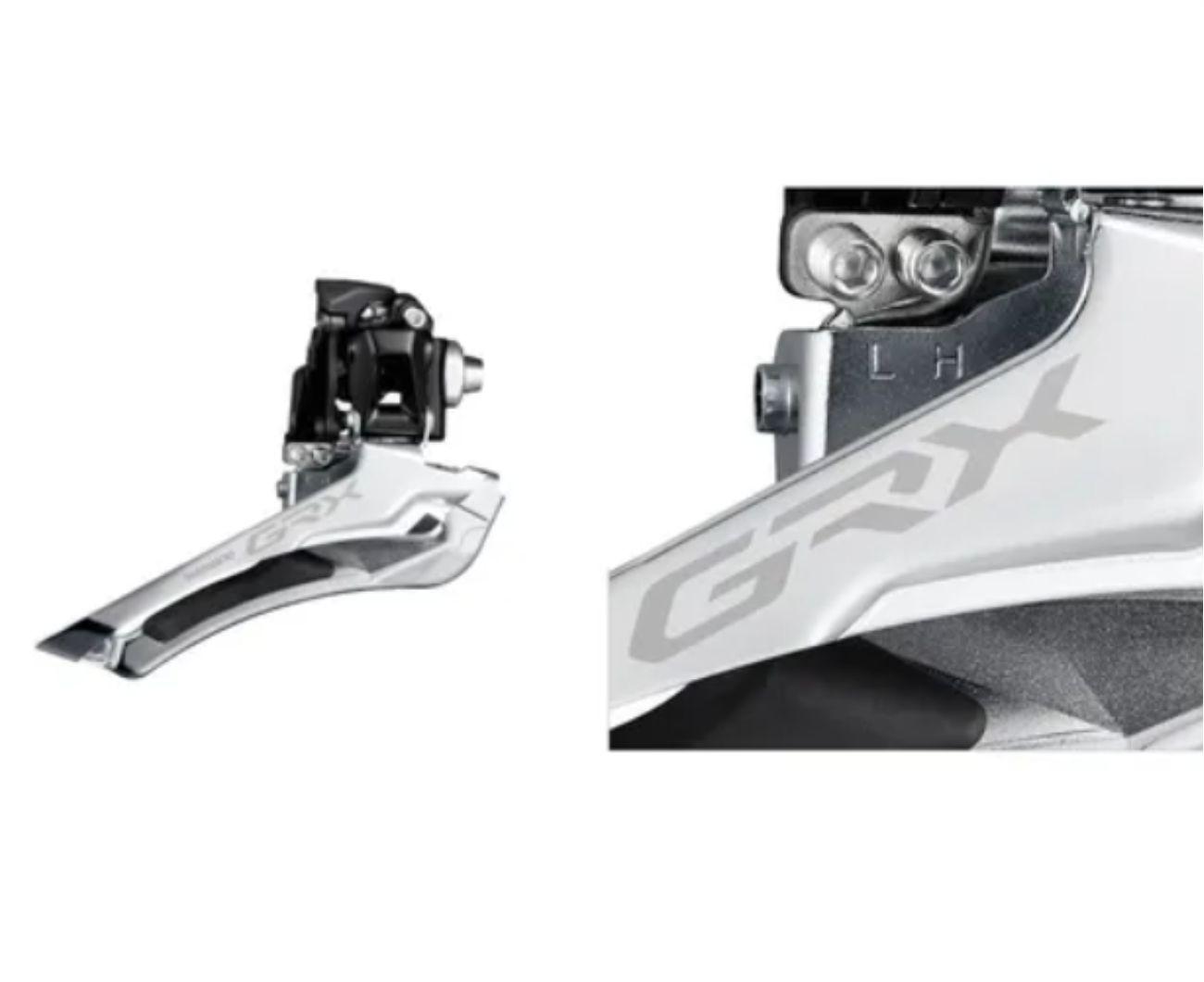 Câmbio Dianteiro Shimano Grx Rx400 2x10v Brazed On