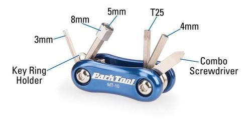 Canivete Park Tool Mt-10 8 Funções Allen Full