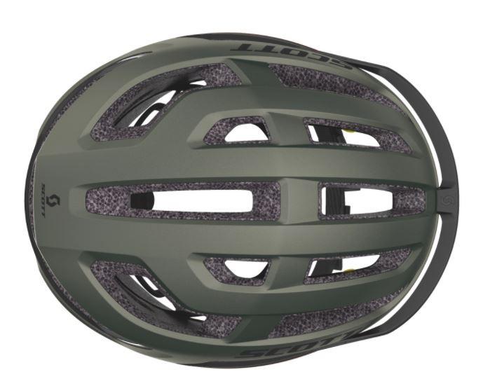 Capacete Scott Arx Plus (ce) - Verde Musgo
