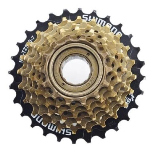 Catraca Roda Livre Rosca Shimano Tz500 Bike 14/28d 7v