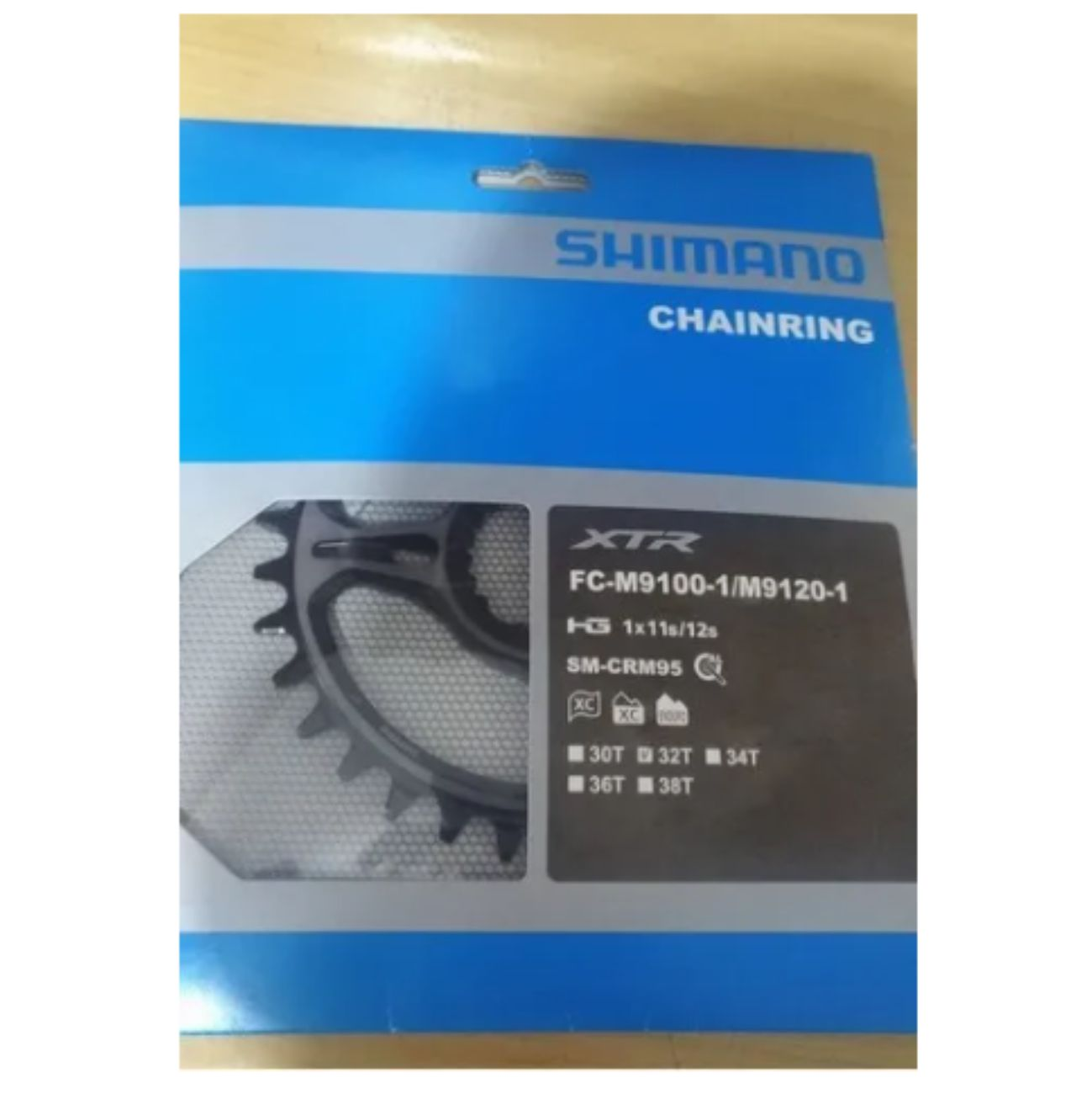 Coroa Shimano Xtr M9100 / M9120 11v / 12v 32d