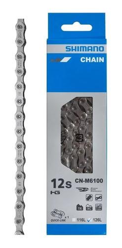 Corrente Shimano Deore CN-M6100 12V - 126 Elos