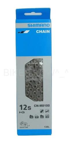 Corrente Shimano Deore XT CN-M8100 12V 138L + Quicklink