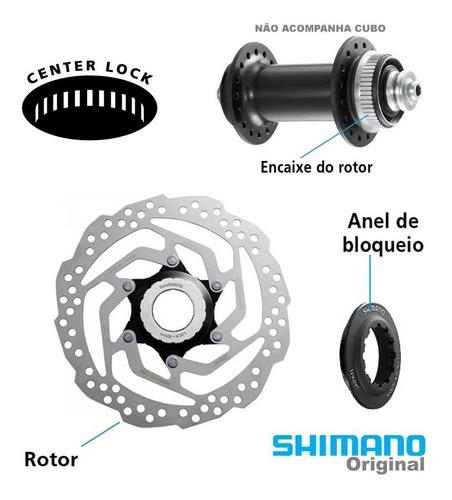 Disco De Freio Shimano Sm- Rt10 Center Lock 180mm
