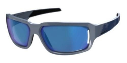 Óculos De Sol Scott Obsess Acs Azul + Lente Azul + Estojo