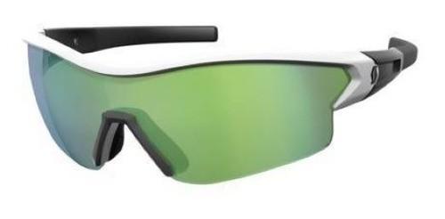 Óculos Scott Leap Bco/pto + 2 Lentes ( Vd/trans) + Estojo