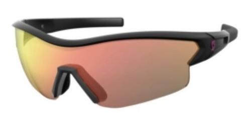 Óculos Scott Leap Preto Bri + 2 Lentes ( Vm/trans) + Estojo