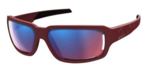 Óculos Scott Obsess Acs Vermelho Esc + Lente Pk Esp + Estojo