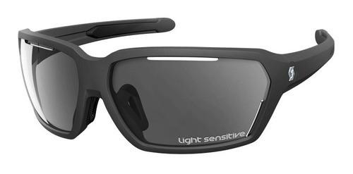 Óculos Scott Vector Ls Pto Fosco Com Lente Cz Sens. + Estojo