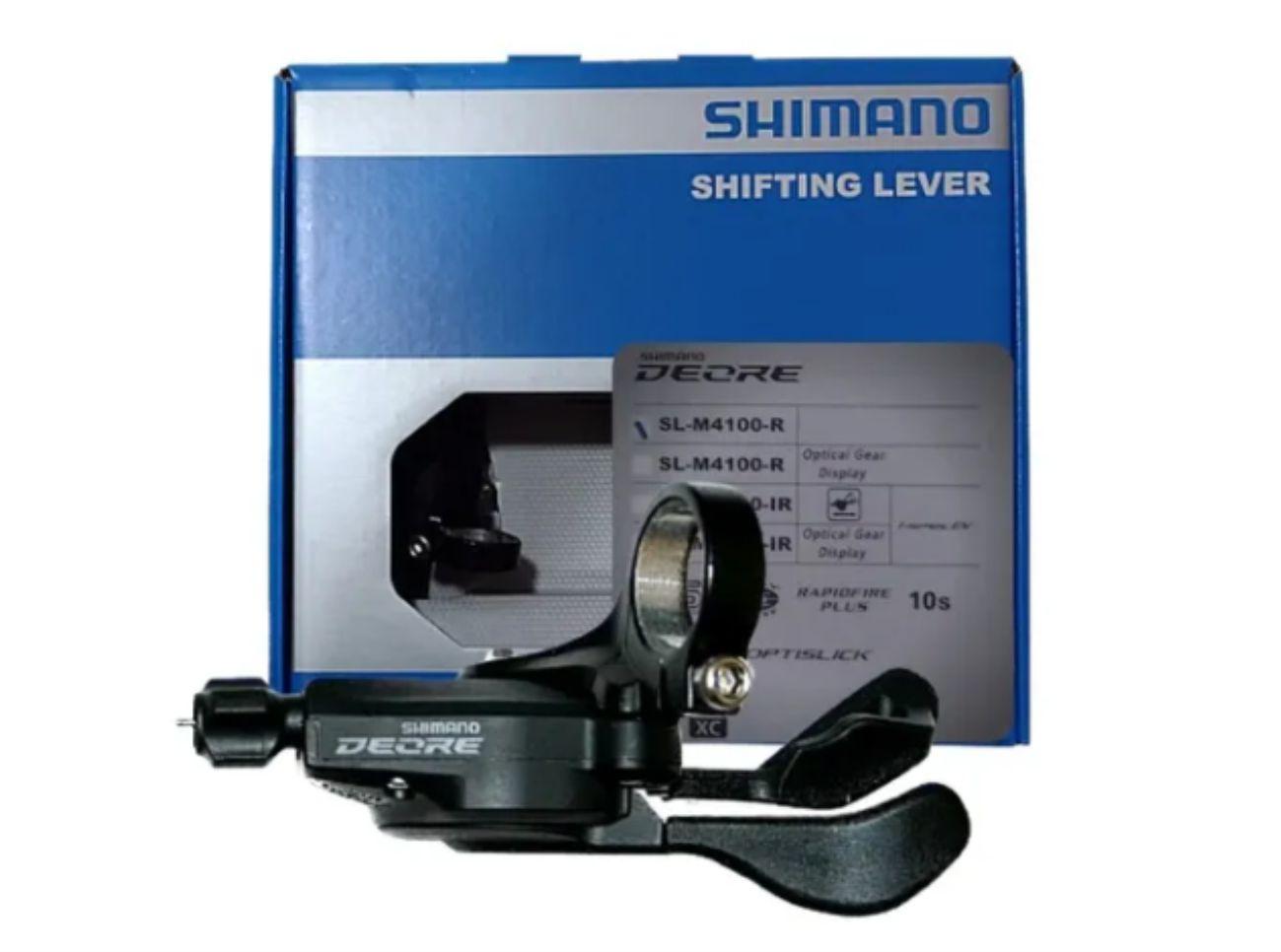 Passador Alavanca Câmbio Shimano SL - M4100 Direito 10v