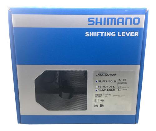 Passador Alavanca De Câmbio Shimano Alivio 2x9v Sl M3100 18v