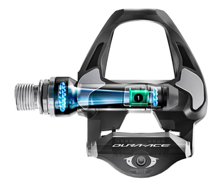 Pedal Shimano Dura- Ace PD- R9100 Carbon