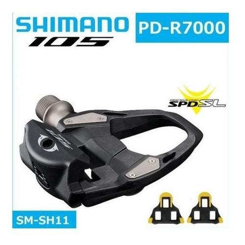 Pedal Speed Clip Shimano 105 Pd R7000 Com Taquinhos