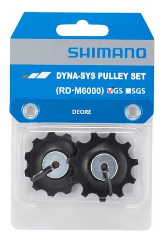 Roldana P/ Câmbio Traseiro Shimano Deore Rd M6000 Gs 10v Par