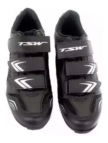 Sapatilha De Ciclismo, Mtb, Tsw New Fit