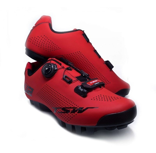 Sapatilha De Ciclismo, Mtb, Tsw Smart U2, Sist. Boa + Velcro