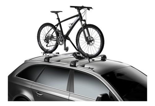 Transbike Thule Pro Ride Calha Teto C/ Ajuste (598) Prata