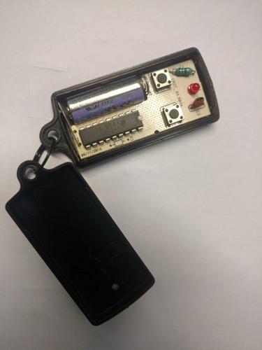 10 Peças Controle Para Portão Eletrônico 299 Mhz Com Pilha