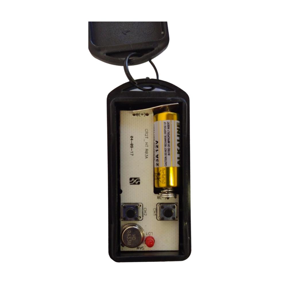 12 Controles Remoto 433 Mhz Para Portão Eletrônico com Pilha
