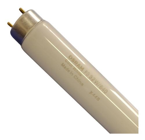 12 Lâmpadas Fluorescentes Tubulares 32w/640 T8 Branca Fria Osram
