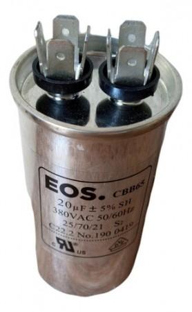 Capacitor Para Ar Condicionado Split 20uf 380V 50/60hz