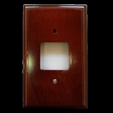 Kit 5 Espelhos de Madeira Maciça Interruptor