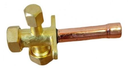 Válvula De Serviço 3/8 Tipo Schrader Ar Condicionado Split