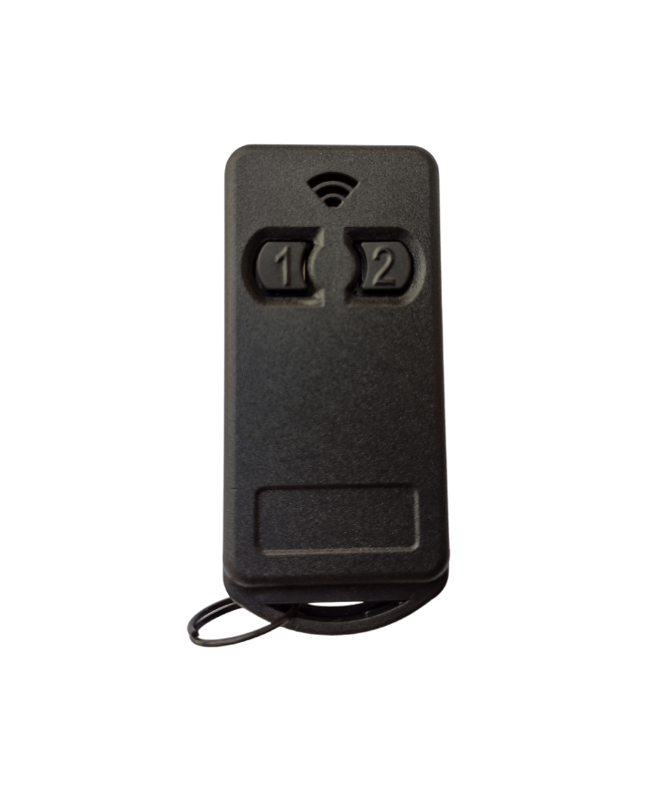 2 Controles Para Portão Eletrônico 299 Mhz Com Pilha