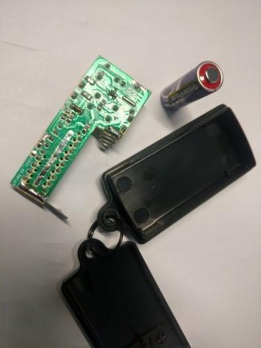 50 Controles Para Portão Eletrônico 299 Mhz Com Pilha