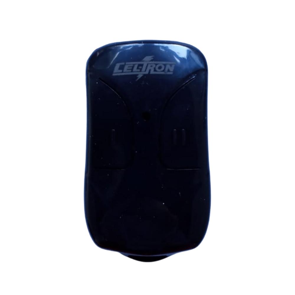 5 Controles Remoto TX Clic Para Portão Eletrônico 433Mhz com Pilha Celtron