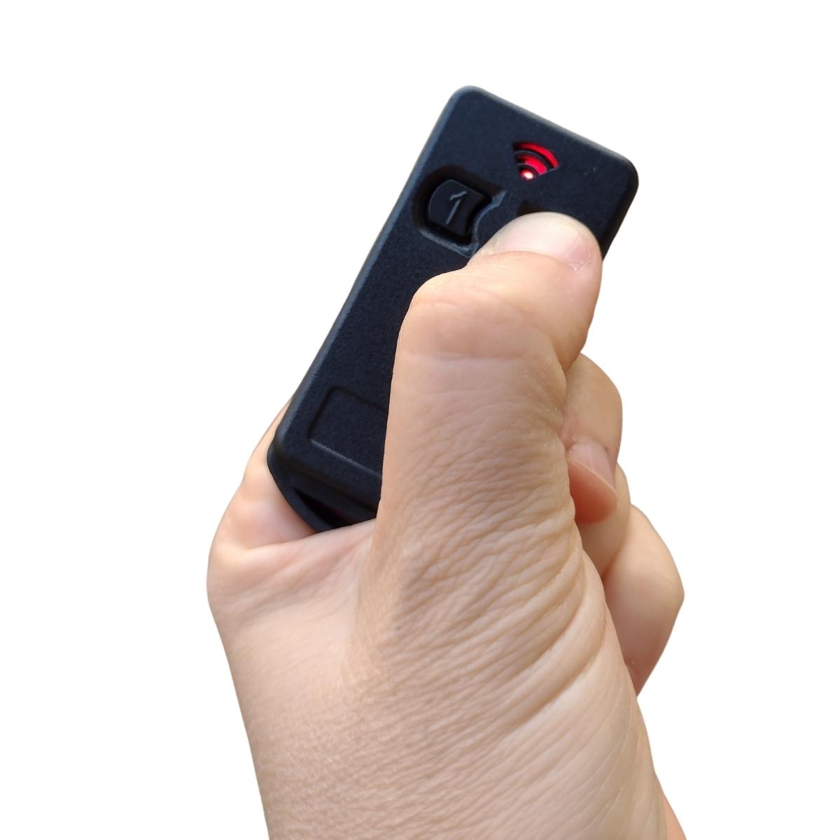 5 Peças Controle Para Portão Eletrônico 299 Mhz Com Pilha