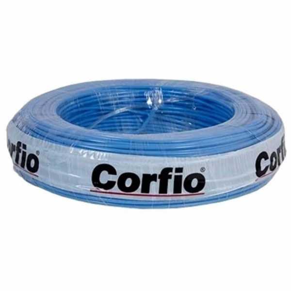 Cabo Flexível Corfio 750V 1mm Azul com 20 Metros