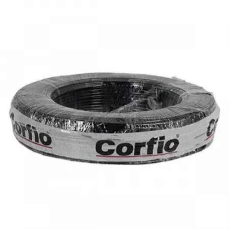 Cabo Flexível PP Corfio 500V 5x1,5mm Preto 1 Metro