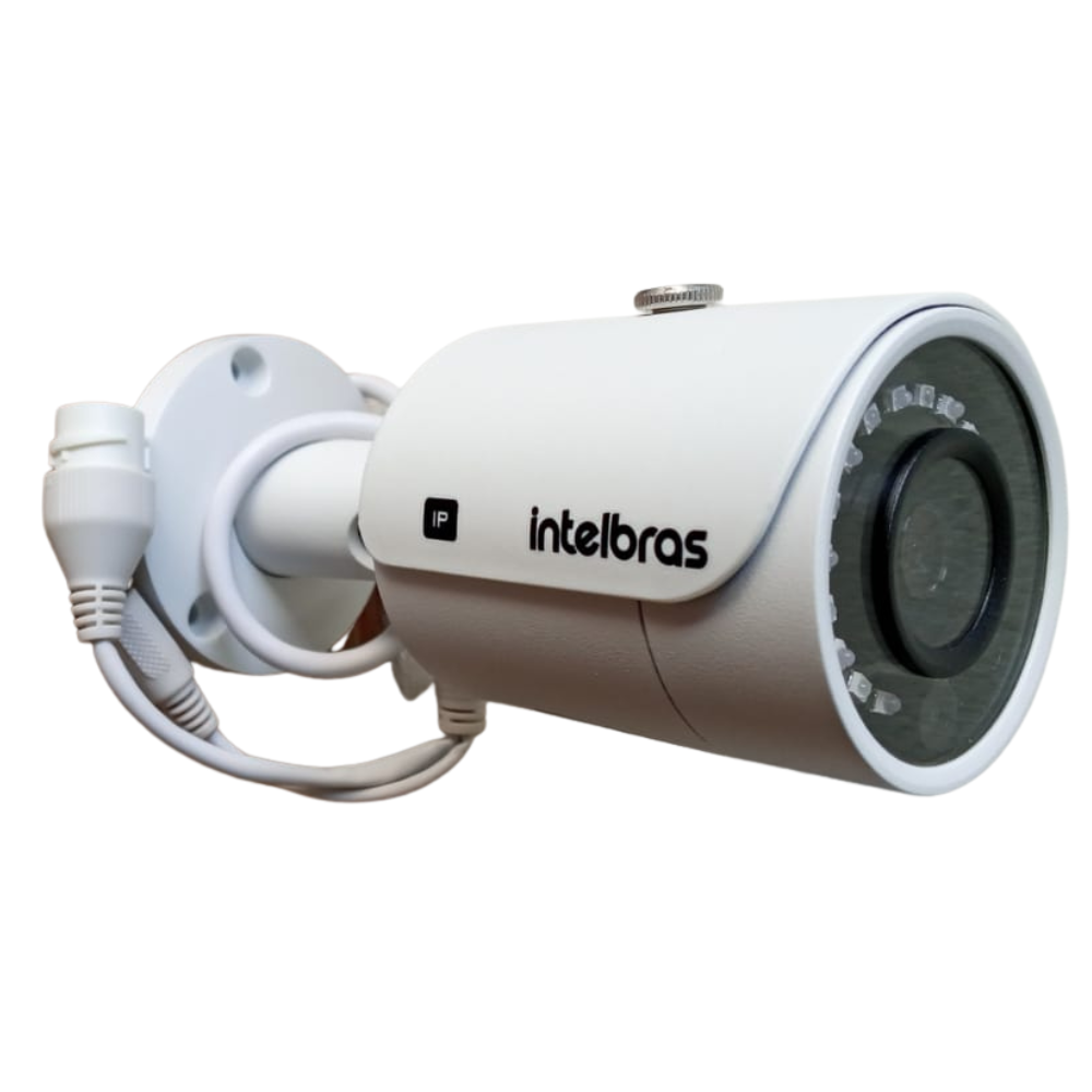 Câmera Intelbras Ip Bullet Alcance 30mts 1 Mp Hd720p Ip67