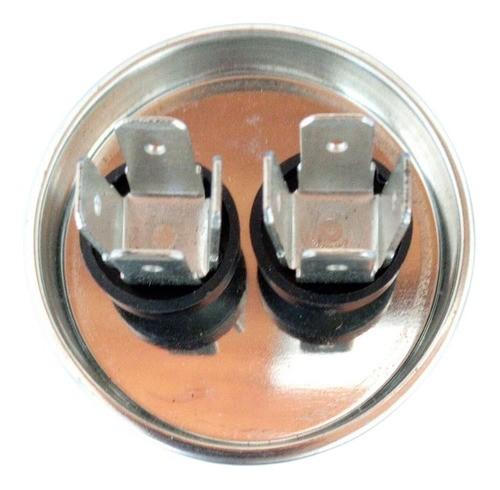 Capacitor Duplo Para Ar Condicionado Split 25 MFD 380v EOS com Terminal 45x90