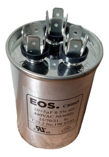 Capacitor Partida Para Ar Condicionado Split 20+5uf 380v