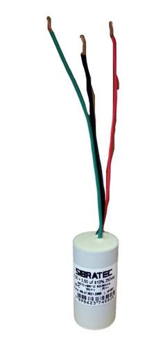 Capacitor Permanente Duplo 1,5µf+2,5µf 250vca Sibratec