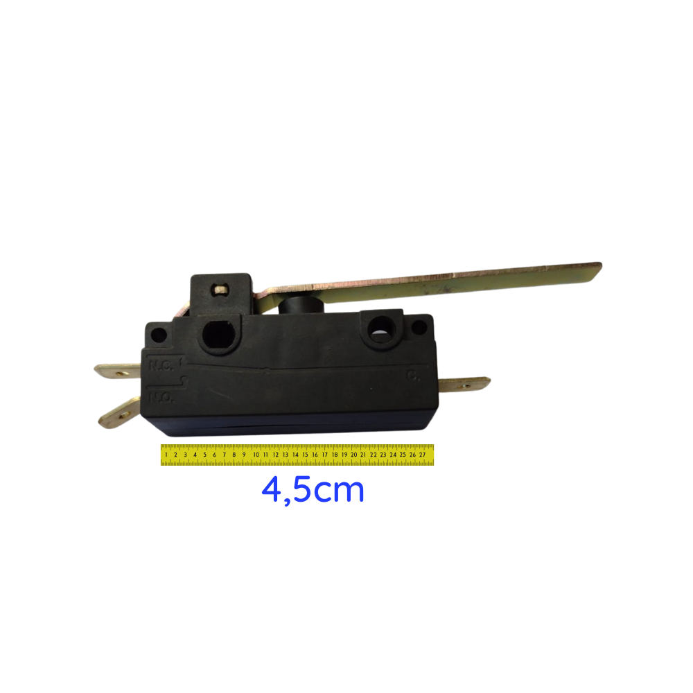 Chave Micro Fim de Curso 10A para Motor Deslizante Movimento